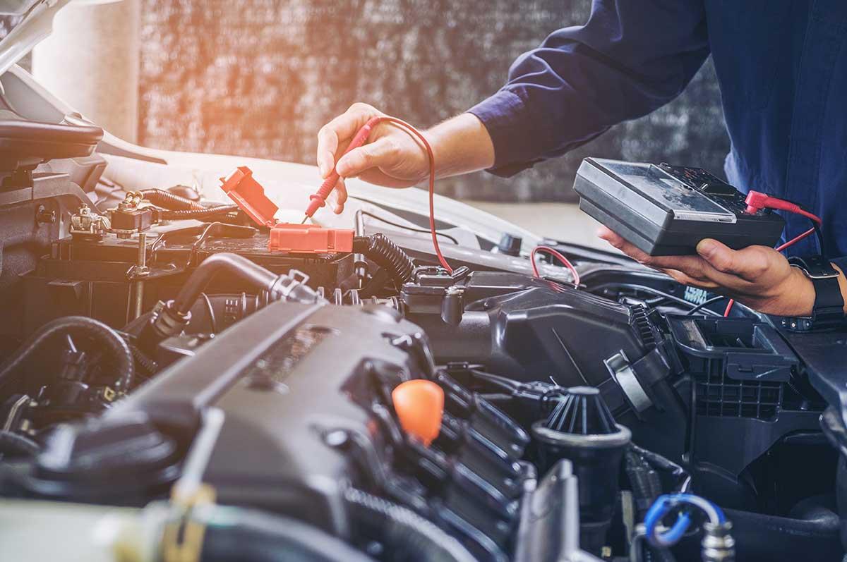 Engine diagnostic test