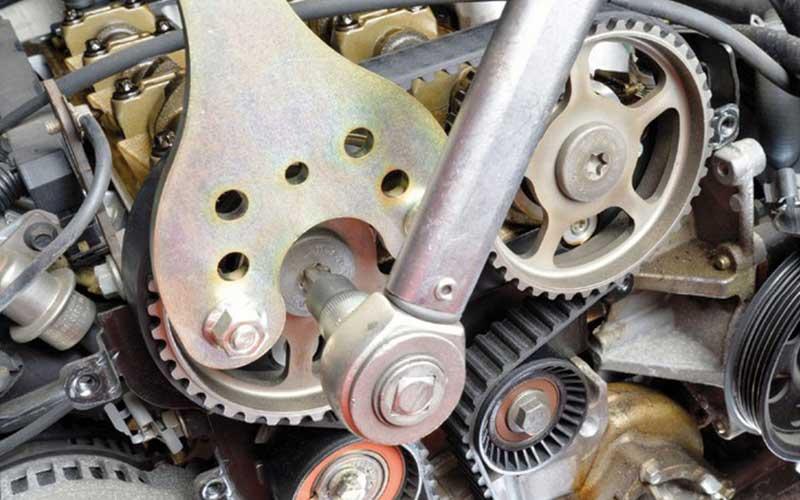 Camshaft drive belt repair