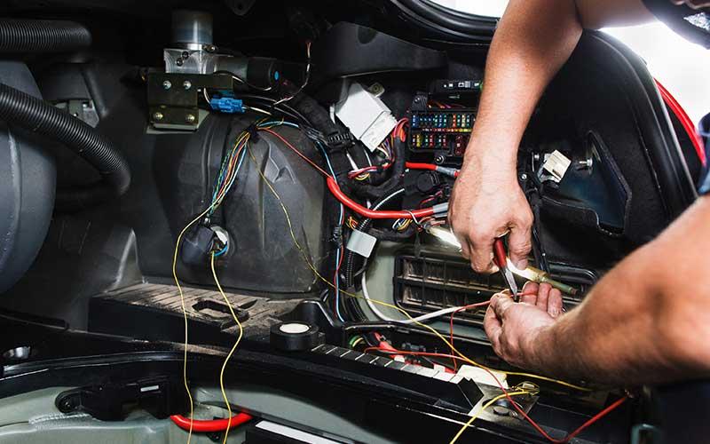 Car electrical repairs